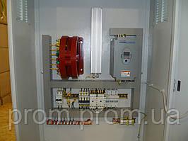 Шкаф электрический, управления  насосными агрегатами с преобразователем частоты, программируемых логическим ко