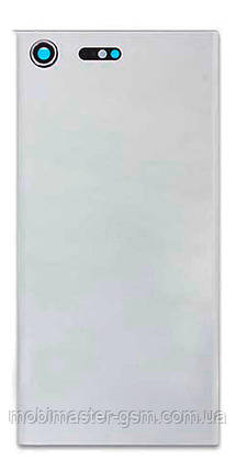 Задняя крышка Sony G8141 Xperia XZ Premium silver, фото 2