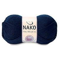 Nako Pure Wool 3.5 (Пур вул) 100%шерсть 2418