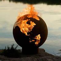 Камин очаг-шар Глобус 900 мм
