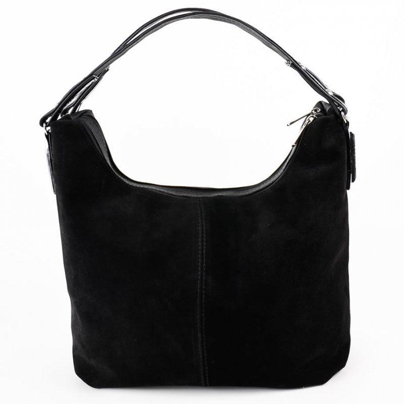 db1869b869cd Замшевая сумка-мешок М108 шоппер с ручкой - Интернет магазин сумок SUMKOFF  - женские и