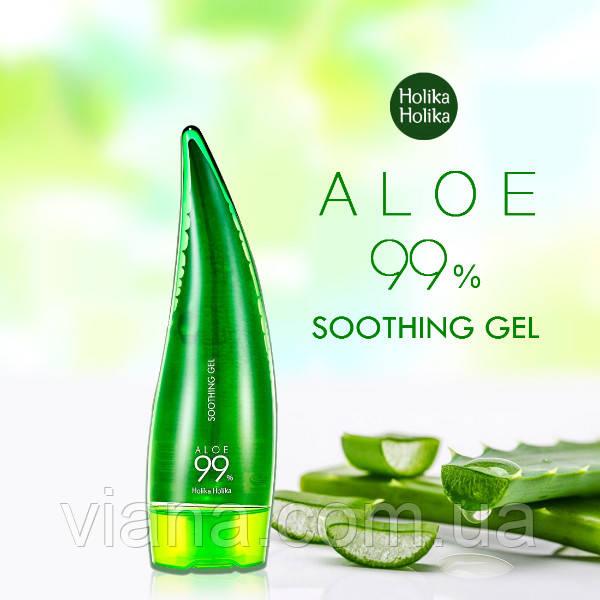 Увлажняющий гель алоэ Holika Holika Aloe Soothing Gel 250 мл