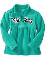 Детский теплый флисовый реглан  на девочку Old Navy