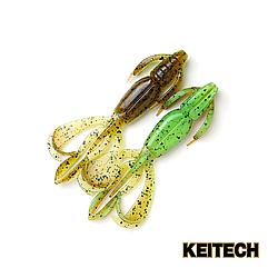"Силикон Keitech Crazy Flapper 4.4"" (6 шт/упак) ц:401 greenpumpkin"