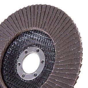 Круг лепестковый торцевой Дніпро-М Р120, 5 шт/уп, фото 2
