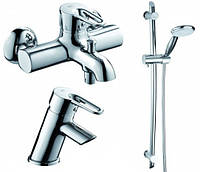 Комплект змішувачів для ванни Armatura (KFA) Bazalt 4701-000-00 Польща