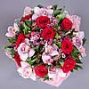 Красочный букет с орхидеями «Магия любви»