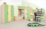 Кровать односпальная Саванна  (Світ мебелів) 1950х850х480мм , фото 2