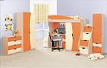 Кровать односпальная Саванна  (Світ мебелів) 1950х850х480мм , фото 3