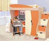 Кровать односпальная Саванна  (Світ мебелів) 1950х850х480мм , фото 4