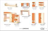 Кровать односпальная Саванна  (Світ мебелів) 1950х850х480мм , фото 5