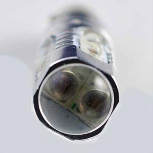 Мощная светодиодная  лампа  SLP LED с цоколем BAY9S (H21W) Epistar 50W 9-30V Красный, фото 2