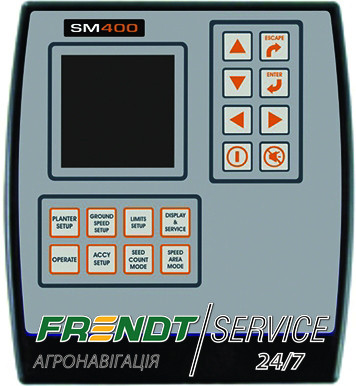 Ремонт монітора висіву SM400