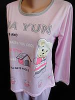 Однотонные молодежные пижамы на лето., фото 1