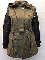 Весенние женские куртки парки распродажа