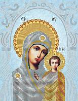 Схема на ткани для вышивания бисером Казанская икона Божией Матери. Венчальная Пара. А-строчка