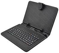 Чехол с русской клавиатурой для планшета 9'' Micro USB