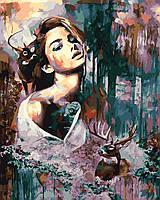 Картина по номерам Лесная дива