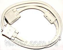 VGA/VGA 1.5 метра белый(3+6)