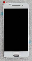 Модуль (дисплей+сенсор) для HTC One A9 білий, фото 3