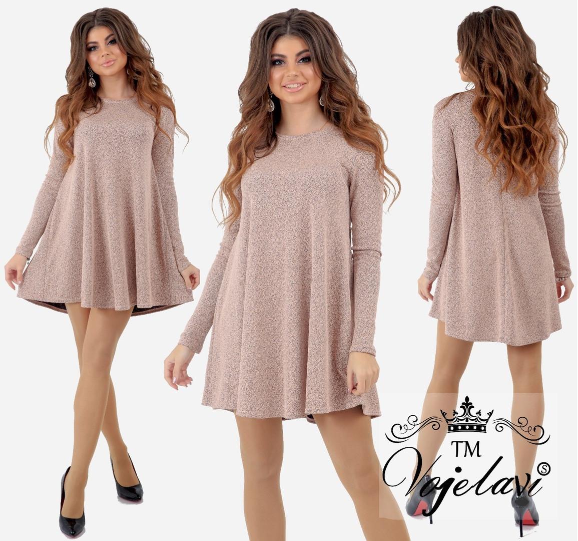 327a752b2b2 Красивое женское платье трикотаж