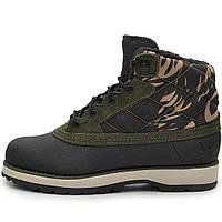 Ботинки мужские adidas NAVVY QUILT Boot M20687 (черные, хаки, осень - зима, подошва ЕВА, бренд адидас)
