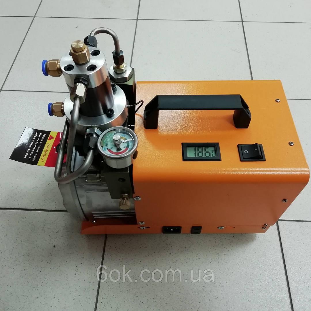Электрический компрессор высокого давления 30Mpa (300 Атм) Насос PCP Electric Air Насос 220V