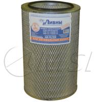Фильтр воздушный ХТЗ, КамАЗ Евро-2, (комплект) ЭФВ 721-1109560-10 / ЭФВ 721-1109560-30, ЛААЗ