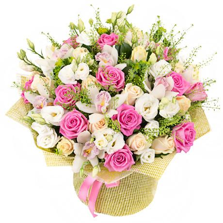 Ніжний букет коханої жінки «Романтика»