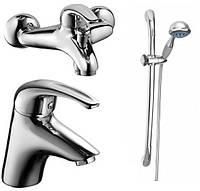 Комплект смесителей для ванной Armatura (KFA) Piryt 441-00-00 Польша