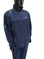 Спортивный костюм на флисе SOCCER - темно-синий 11329