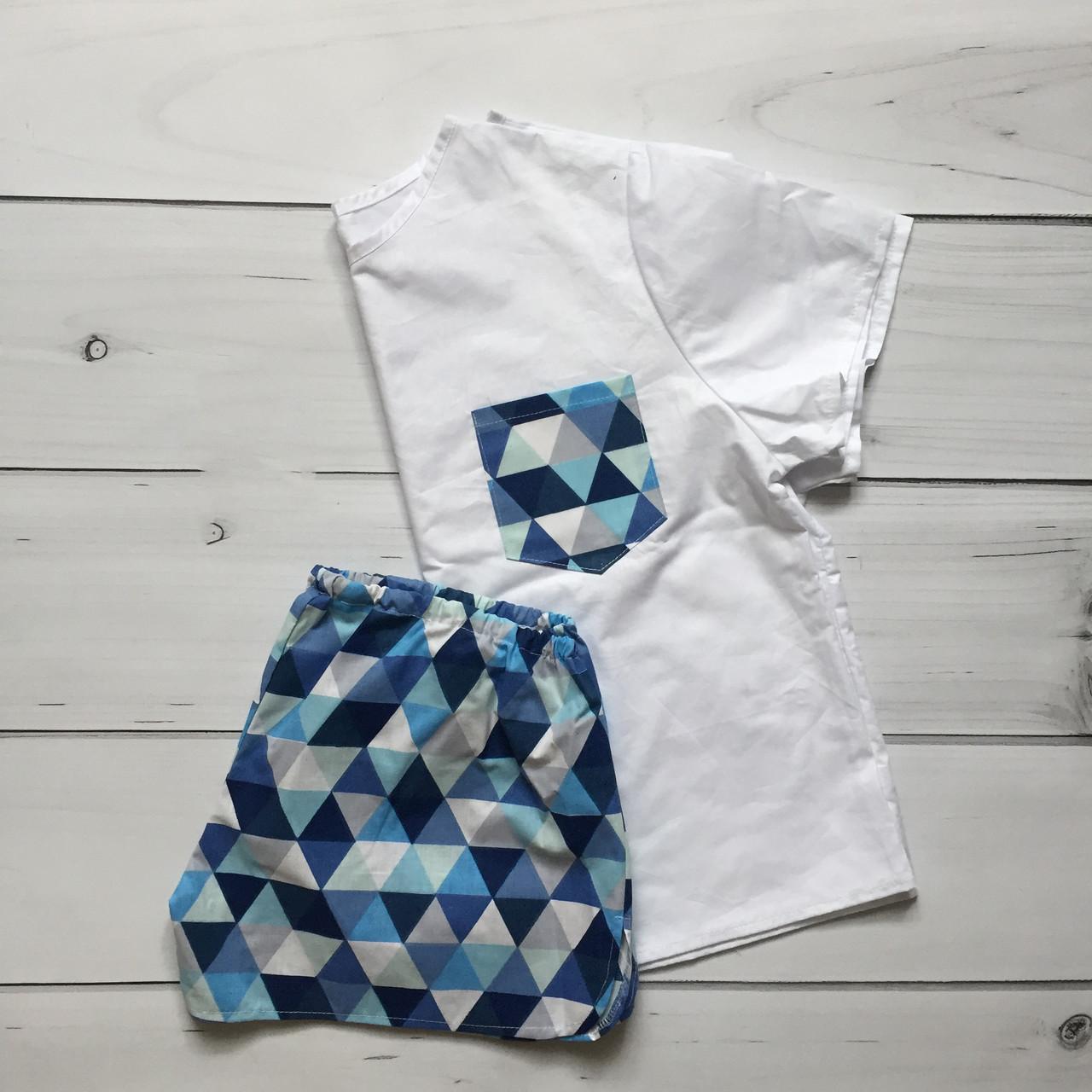 Пижама женская Узор 100% хлопок