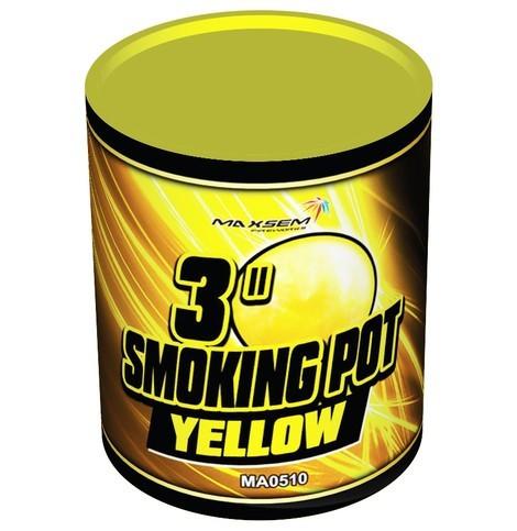 SMOKING Цветной дым. Желтый. Банка MA0510/Y