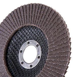 Круг лепестковый торцевой Дніпро-М Р100, 5 шт/уп, фото 2