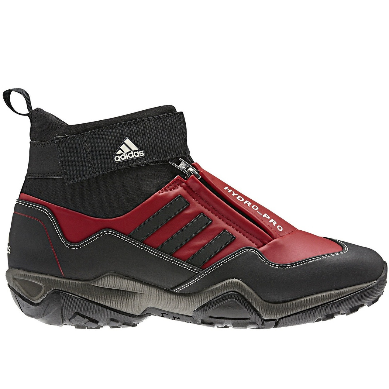Ботинки мужские adidas Hydro Pro G46736 (красные, зимние, туристические, водонепроницаемые, бренд адидас)