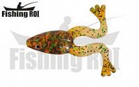 Силиконовая приманка Fishing ROI Swamp Frog цвет D010