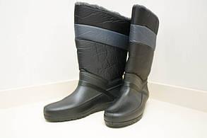 Женские дутики (Код: БР-01 босфор черный)