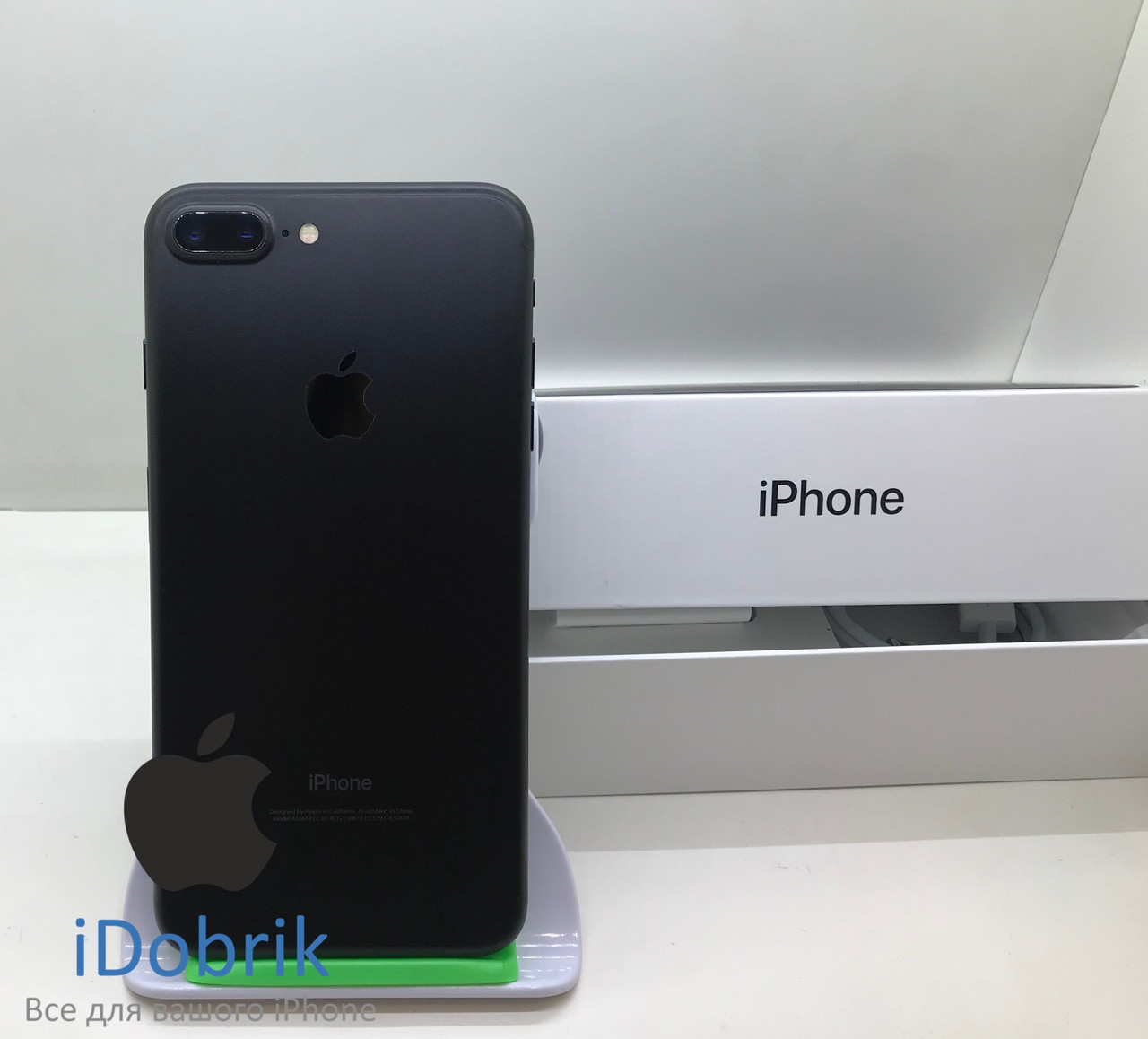 Б/У iPhone 7 Plus 256gb Black Neverlock 10/10