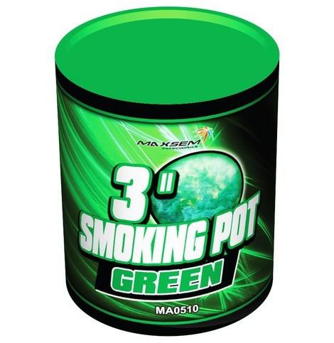 SMOKING Цветной дым. Зеленый. Банка MA0510/G