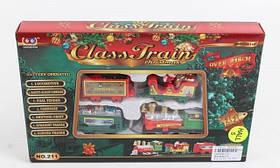 Поезд рождественский на батарейках 216 см 211