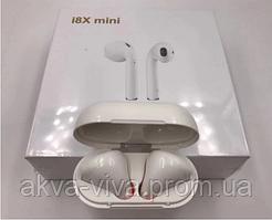 Наушники i8X-mini. Гарнитура i8X-mini. Копия Apple