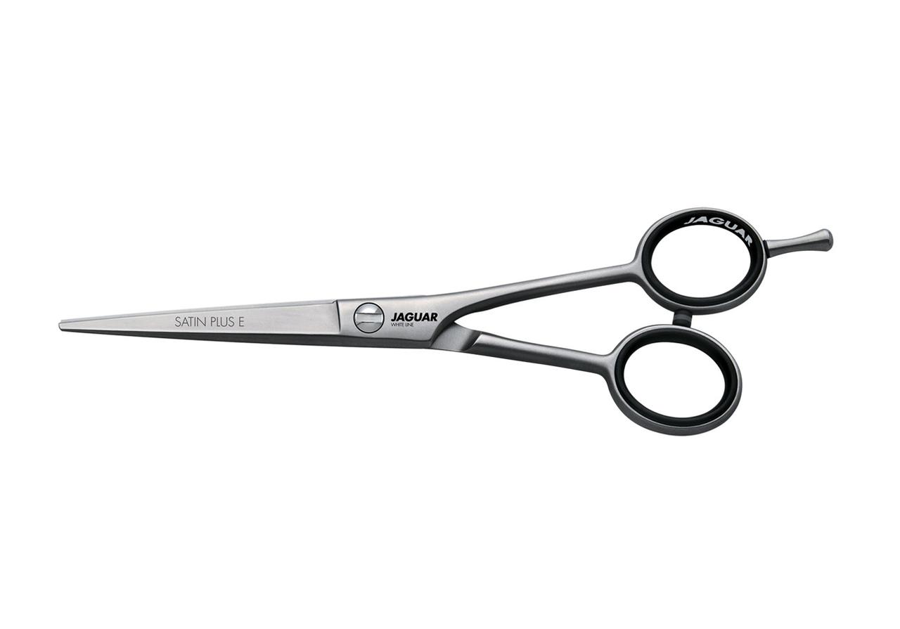 """Ножиці для стрижки прямі Jaguar White Line Satin Plus 5,50"""""""