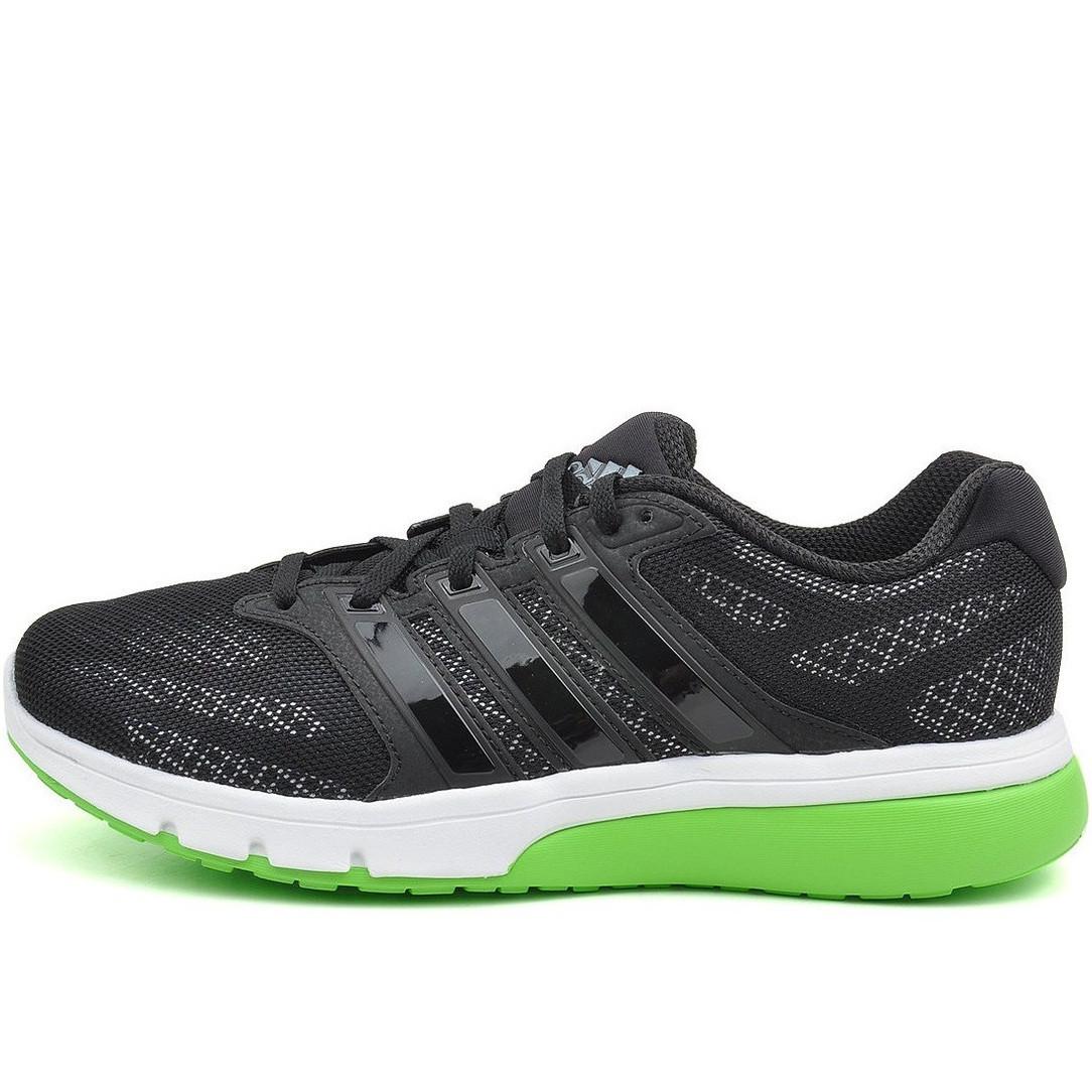 Кроссовки мужские adidas Turbo 3.0 M18972 (черно-белые, беговые, летние, верх из текстиля, бренд адидас)