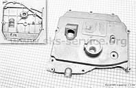 Крышка блока двигателя правая (короткая) алюминиевая 9отв. R190N/195NM