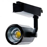 Трековый LED светильник Vela VL-GD2330-1 30W черный