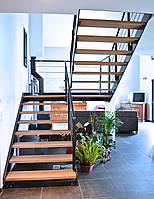 Лестница на двух косоурах, фото 1