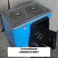 Огонек КОТВ-12,5 П (Тайга) Котел плита на две конфорки