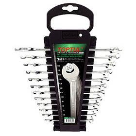 Набір ключів комбінованих на холдере 12 шт. Toptul GAAC1201