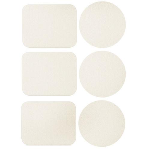 Набор косметических спонжей для макияжа 3 круга+3 прямоугольника QS-122