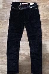 Вельветовые брюки для девочек утепленные, Seagull, арт. 89723, рр 158-164